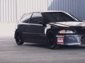 Ray's 1000hp Honda Civic street car